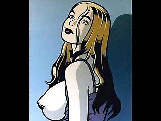 Big Tits And Restraint Bondage Comic Art