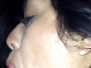 Latina Sucking Uncircumcised Sancho Fuckpole In Car