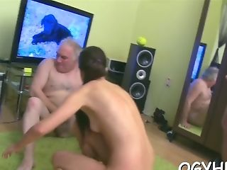 Russian Cutie 's Quim Tongued Well