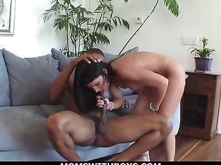 Buxomy Cougar Kendra Fucks A Big Black Stiffy