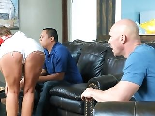 Britney Amber Gets Fucked By Her Spouse's Friend Johnny Sins