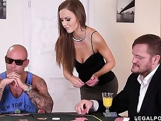 Poker Honey Tina Kay Hard Fuck - Gang-bang Romp