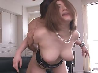 Alice Ozawa Gives A Japan Blowage And Fucks Two Guys