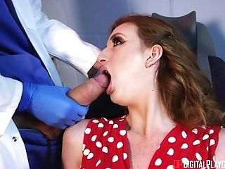 Zara Durose Wants To Sense A Sumptuous Dentist's Big Boner