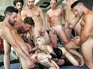Porno Academy Assfuck Gang-fuck Training!