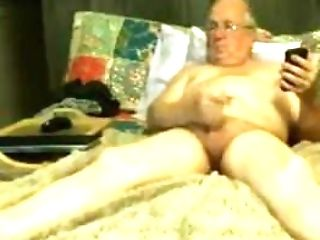 Grandfather Stroke On Webcam