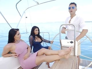 Yacht sex video