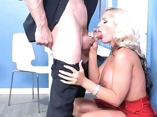 Alena Croft Takes A Hot Internal Cumshot From His Big Manhood