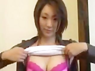 Asian Gal Dancing And Lactating