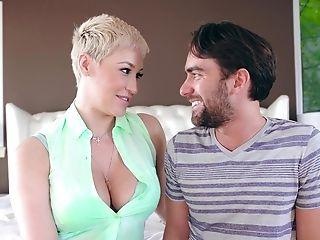 Brief Hair Cougar Logan Pierce Likes To Rail On A Friend's Pecker