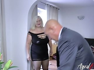 English Big Jugged Matures Bbw Lacey Starr Gets Money-shot On Her Meaty Boobies