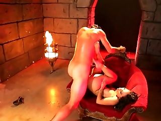 Provocative Asian Bombshell Asa Akira Fucked In The Dungeon Space