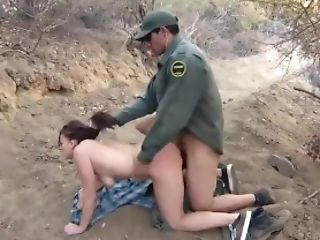 Cops Come Kayla West Was Caught Lusty Patrool During Border Crossing