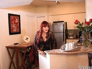 Cougar Sexy Vanessa Adores To Suck Her Friend's Penis Before A Fuck