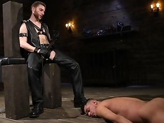 Sadism & Masochism Queer Bdsm Area Session With Electric Ball Torment
