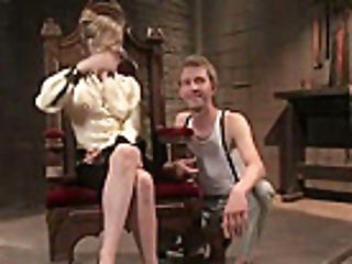 Maitresse Madeline Pegs Her Gimp
