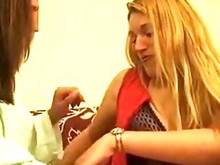 Ana Paula Melo & Cristina Junior - Portuguese Jealous Housewive Hammer Down By A Hooker.