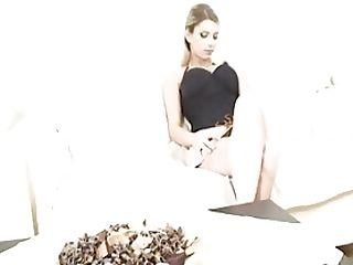 Katrin Kozy In Black Corset