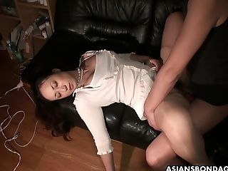 Beau Licks And Fucks Coochie Of Sleeping Gf Ayumi Wakana