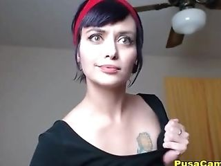 Hot Web Cam Female Deepthroating Entire 11 Inch Fake Penis
