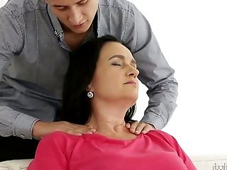 Voracious Matures Mega-bitch Ria Fucks Killer Youthfull Man