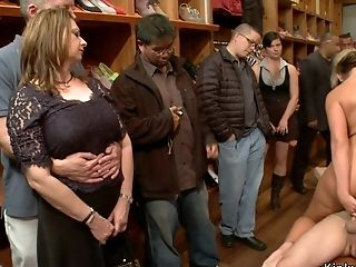 Immense Jugs Housewife Butt Fuck Humped In Store