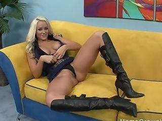 Huge-titted Blonde Is Smoking Hot And She Absolutely Loves My Meatpipe!