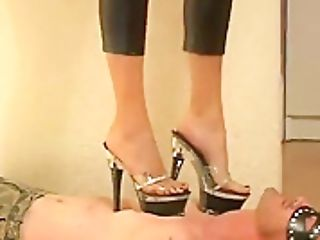 Female Dominance Stomping Platform Mules