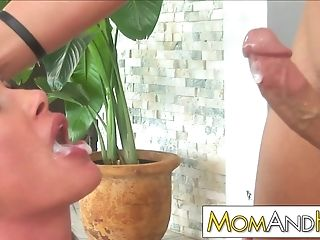 Rich Mom Sky Taylor Cheats With Poolboy
