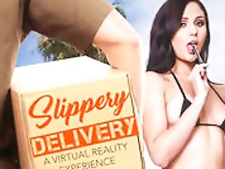 Slimy Delivery Featuring Ariana Marie - Naughtyamericavr
