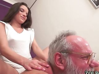 Teenager Creampied By Old Man