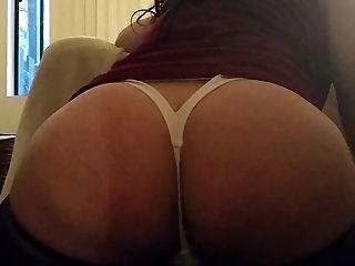 Big Backside Phat Ass Milky Girl Cd In Milky G-string