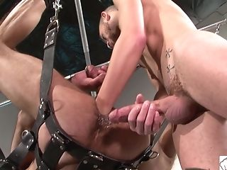 Matures Pierced Homo Dude Gets Fucked Xxx While Tied Up