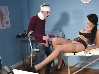 Crazy Nurse In Erotic Undergarments Pounded Hard By Her Patient