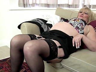 Nothing Makes This Granny More Satisfied Than Her Collection Of Fuckfest Playthings