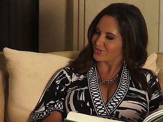 Voluptuous Stepmom Ava Addams Shows Off Big Jugs To Her Orgy-greedy Stepson