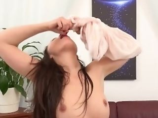 Piss Drinking - Teressa Bizarre Tastes Her Piss And Taunts Her Slit