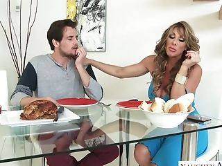 Cougars Are The Best And Farrah Dahl Is One Fuckfest Crazed Cougar With Big Tits