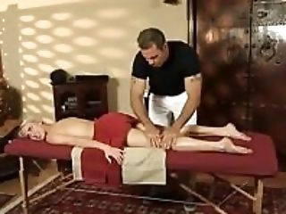 Hot Blonde Honey Cadence Lux Gets Pounded By Her Masseuse