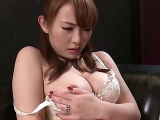 Yu Konishi Tempts Her Fella Wearing Sexy Underwear So He Takes Her Twat