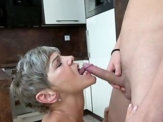 Old Woman Still Knows How To Deal A Decent Dick