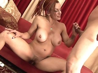 Big-titted Matures Sandy-haired Mummy Shannon Kelly Gets Her Hairy Cooch Creamed
