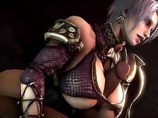 Big Backside Ivy From Behind And Titfuck (soul Calibur 3 Dimensional Manga Porn)