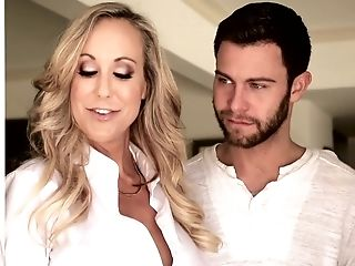 An Never-to-be-forgotten Threesome Hookup With Awesome Sweetie Brandi Love