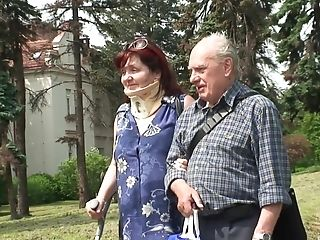 Czech Granny Fucked Hard