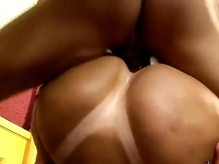 Gorgeous Fat Arse Brazilian Takes Dick