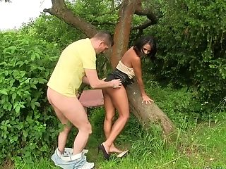 Nice Outdoor Fucking With Piss Drinking Adult Movie Star Isabella Chrystin