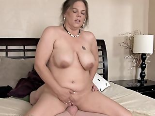Pervert Mom Gets Fucked By Son-in-law In Rear End Style Position