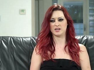 Attractive Pornography Model Melissa Moore Gives An Interview After Hot Lezzy Scene