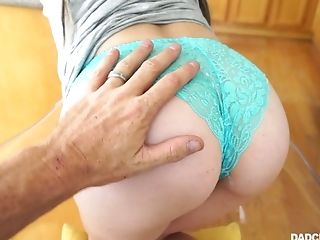 Fuckfest-starved Housewife Alison De Vore Gives Her Head And Gets Messy Facial Cumshot